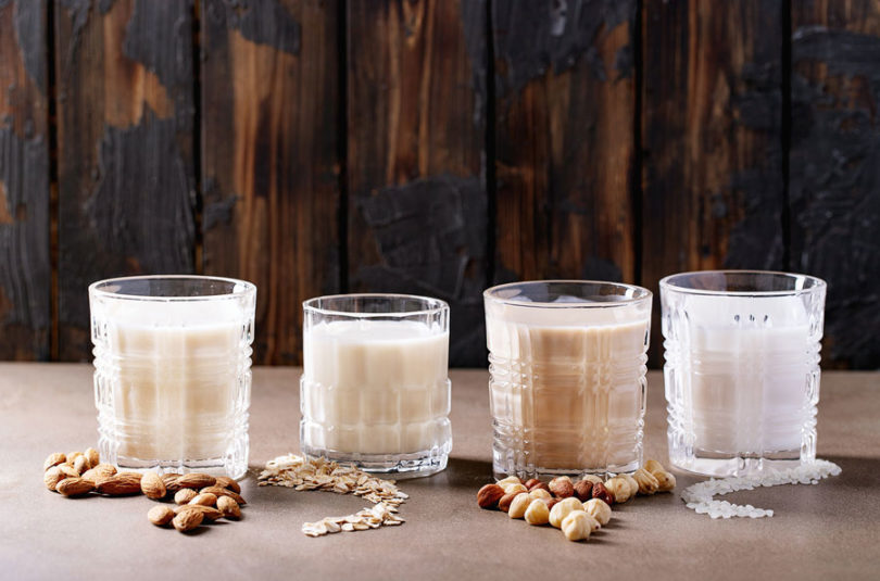 5 alternative al latte da usare quando si è in keto